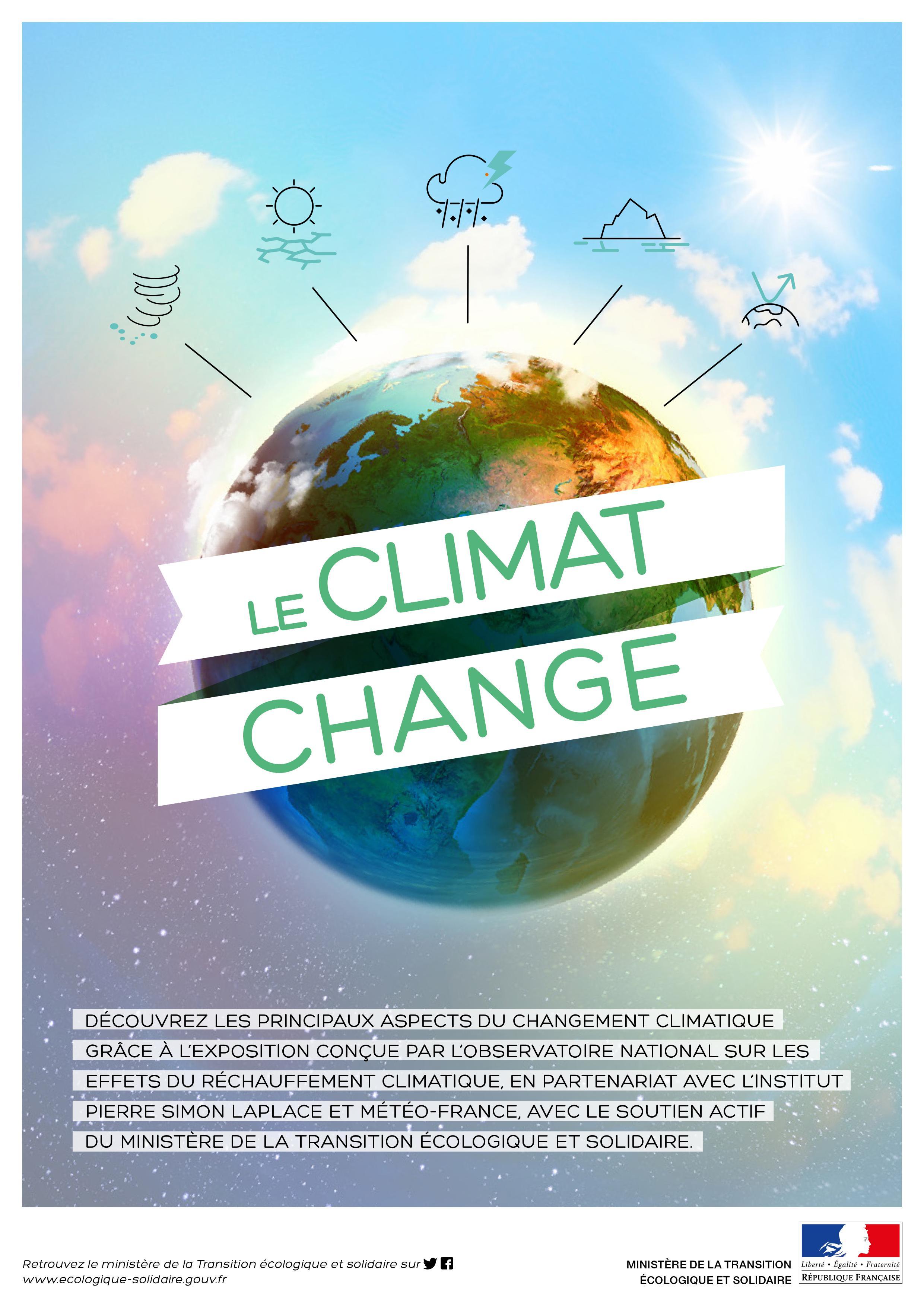 Exposition « Le climat change »