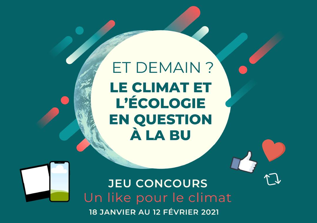 Concours de photographies « Un like pour le climat »