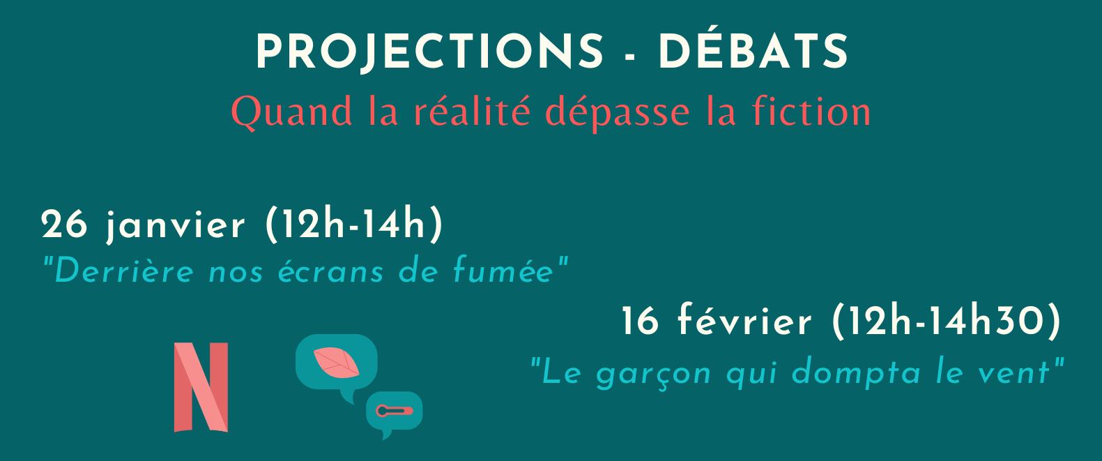 Quand la réalité dépasse la fiction - Projections & débats